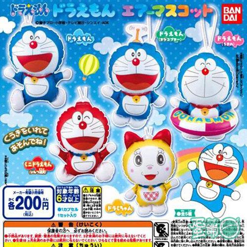 哆啦A夢造型充氣球吊飾