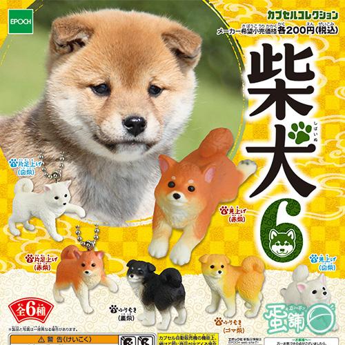 可愛柴犬造型公仔P6(全套)