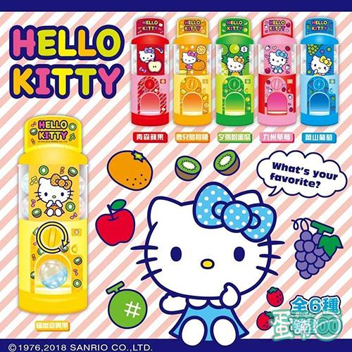 Hello Kitty水果扭蛋機