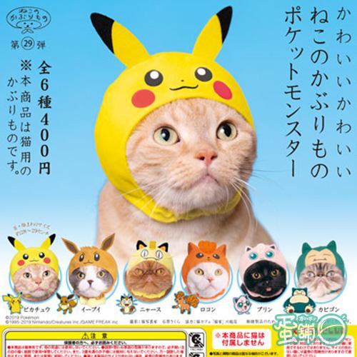 貓咪專屬頭巾P24-精靈寶可夢篇P1
