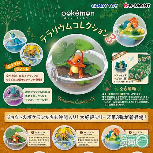 皮卡丘寶貝球盆景品P3(BOX)(一中盒)