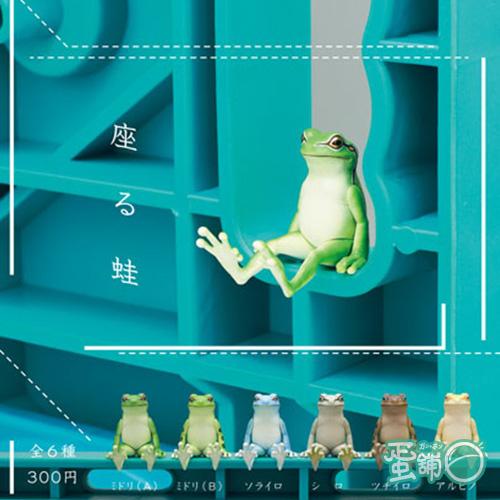 不可思議動物P3-坐姿蛙
