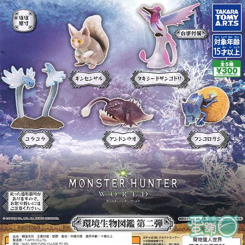 魔物獵人世界環境生物圖鑑P2