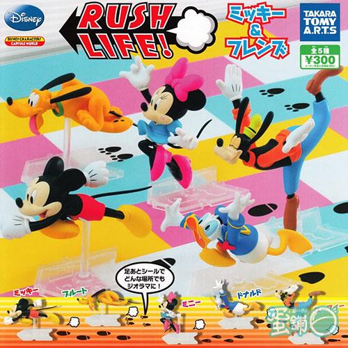 迪士尼米奇與朋友們奔跑公仔