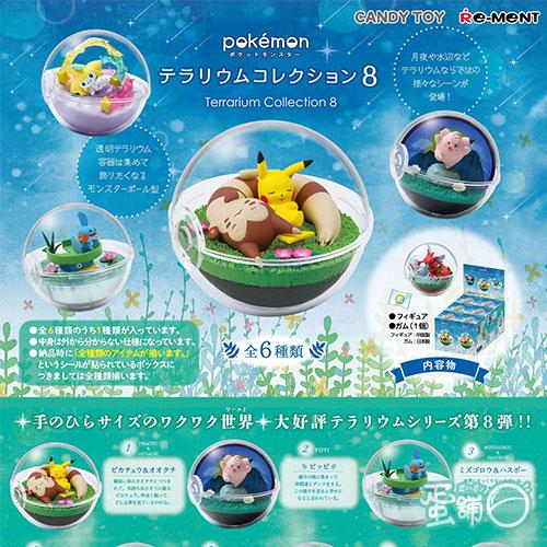 寶可夢寶貝球盆景品P8(BOX)(隨機出貨)