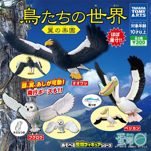 可動鳥類世界-翼之樂園